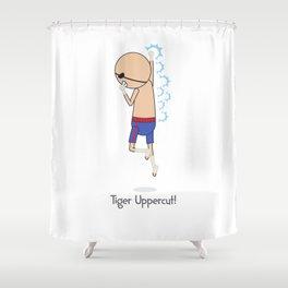 Tiger Uppercut Shower Curtain