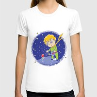 little prince T-shirts featuring Little Prince by Bruna Sousa