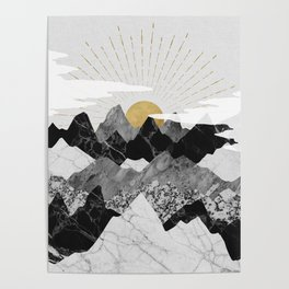 Sun rise Poster