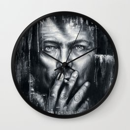 Black Star - Bowie Wall Clock