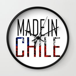 Made In Chile Wall Clock