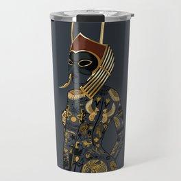 Late Night Egyptian Tales Ep. 6: Horus Travel Mug