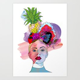 Fruitful Crowning Art Print