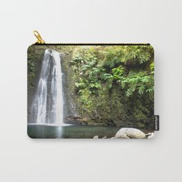 lime green waterfall Carry-All Pouch