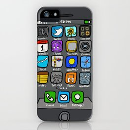 iPhone by Jenny iPhone Case