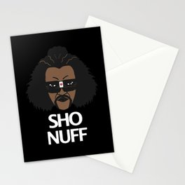 sho nuff - limited edition Stationery Cards