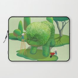 The Topiary Dog Laptop Sleeve