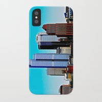 pittsburgh iPhone & iPod Cases featuring Pittsburgh Morning by Biff Rendar