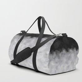Snow Clouds in the Dark - Abstract Duffle Bag