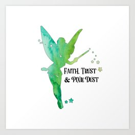 Pixie Dust Art Print