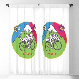 Albert Hofmann Bicycle Day LSD 1943 Circle Blackout Curtain