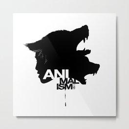 Wolf Kind Metal Print