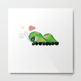 unknow caterpillar Metal Print