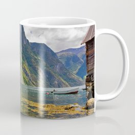 Clear water of fjords Coffee Mug