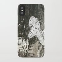 jurassic park iPhone & iPod Cases featuring Jurassic by Erika Marie Burke