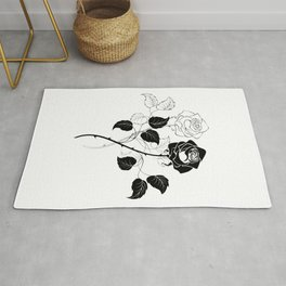 Two Roses Rug