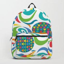cartwheel white Backpack