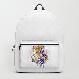Tiger Head Portrait Backpack