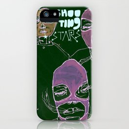 shooting stars an the rebels. iPhone Case