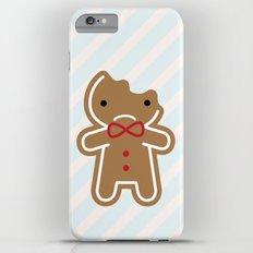 Sad Bitten Cookie Cute Gingerbread Man iPhone 6s Plus Slim Case