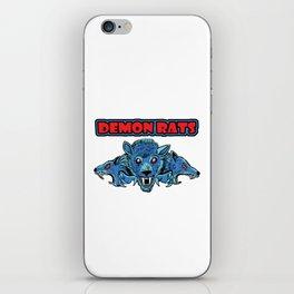 Demon Rats iPhone Skin