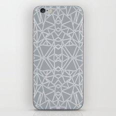 Ab Blocks Grey #3 iPhone & iPod Skin