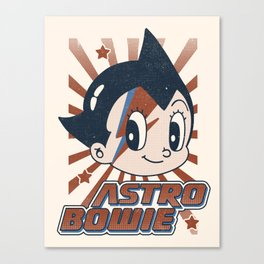 Astro Bowie Canvas Print