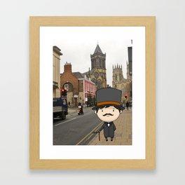 Gentleman Framed Art Print