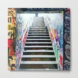 London: graffiti stairs Metal Print
