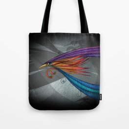 The flame Tote Bag