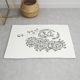 Concept day and night Rug
