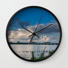 Belle Isle Bridge Wall Clock