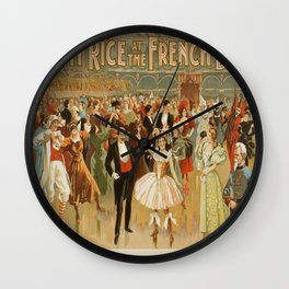 Vintage poster - Fanny Rice at the French Wall Clock