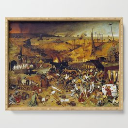 Bruegel the Elder The Triumph of Death Serving Tray