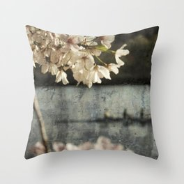 spring glide Throw Pillow