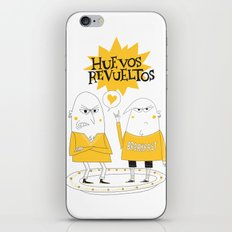 Huevos Revueltos iPhone & iPod Skin