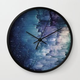 Iced Galaxy Wall Clock