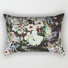 Dark flowery colorful bouquet 01 Rectangular Pillow