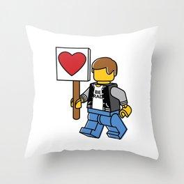 Love Parade Throw Pillow
