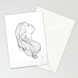 Noveau profile Stationery Cards