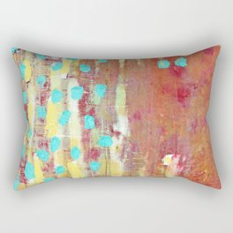 Turquoise Heaven Rectangular Pillow