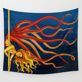 Pole Creatures - Mermaid Wall Tapestry