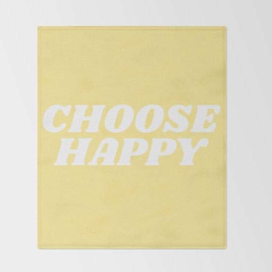 choose happy by typeangel