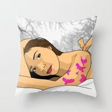 Olga Throw Pillow