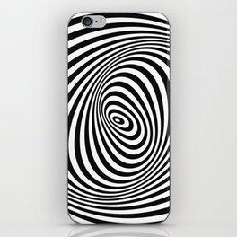 T Shirt Texture Zebra Stripes Printed Tops Tees Graphics Pattern iPhone Skin