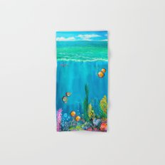 Undersea with Nautilus Hand & Bath Towel