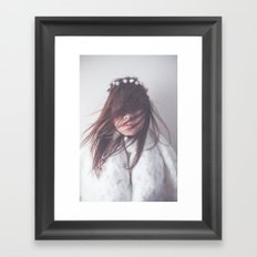 Underneath Her Skin Framed Art Print
