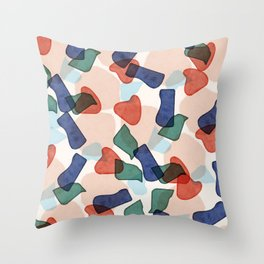 Sofia pattern Throw Pillow