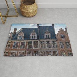 Belgian Houses Rug