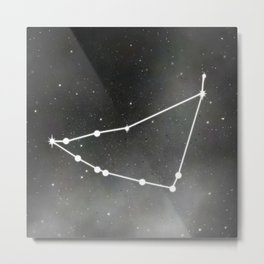 CAPRICORN (ZODIAC SIGN) Metal Print